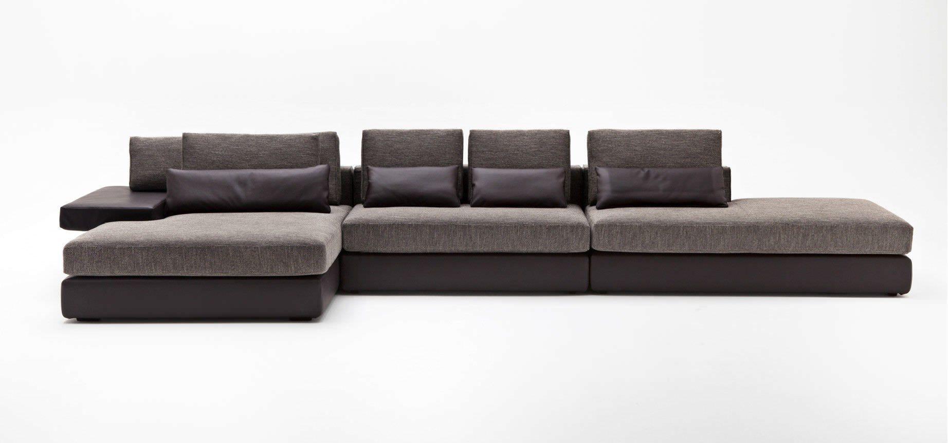 Contemporary Corner Sofa Blocks By Ludovica Roberto Palomba