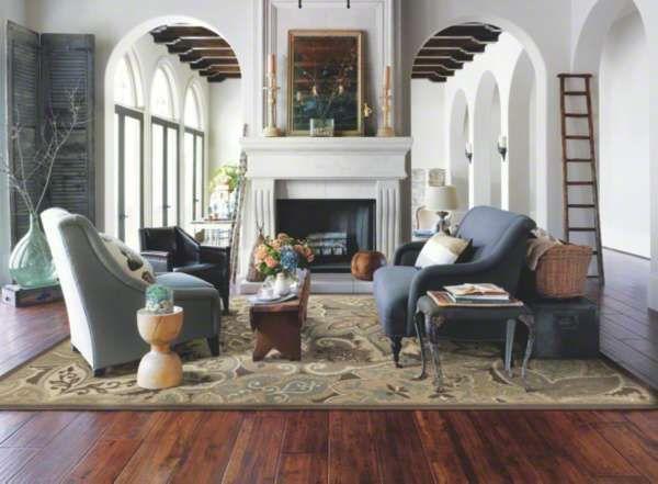 Fresh Wood Floor In Living Room