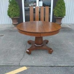 Antiques By Design Claw & Ball Foot Victorian Mahogany Dining