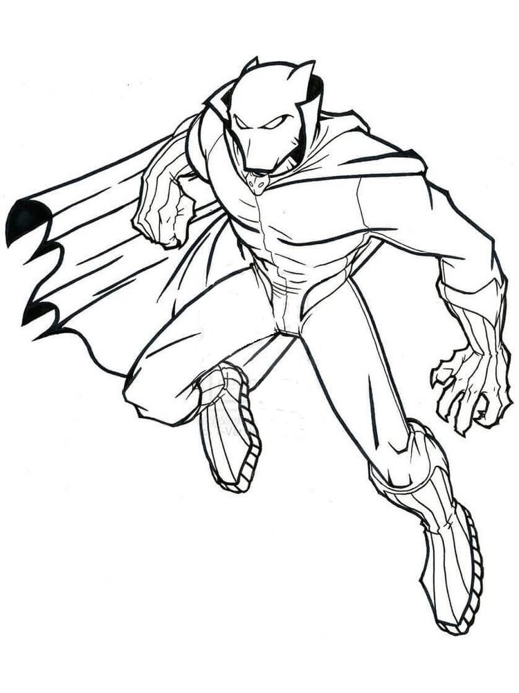 Black Panther Colouring Pages Avengers Coloring Pages Superhero Coloring Pages Superhero Coloring
