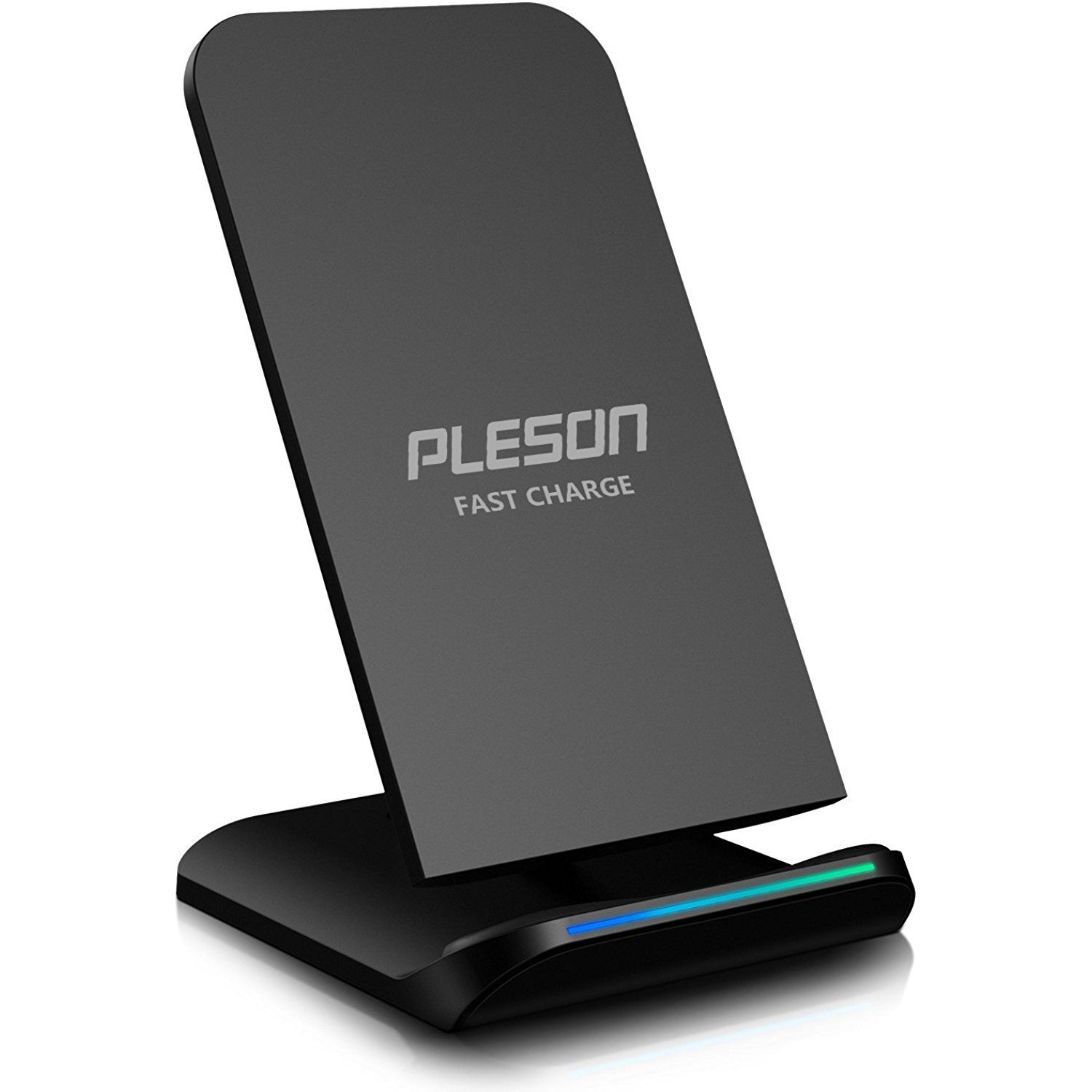 PLESON Fast Wireless Charger Cell QI Fast Wireless Charging Pad Stand for Samsung Galaxy Note 8 S8 Plus S8 S8 S7 S7 Edge Note 5 and Standard Charge for