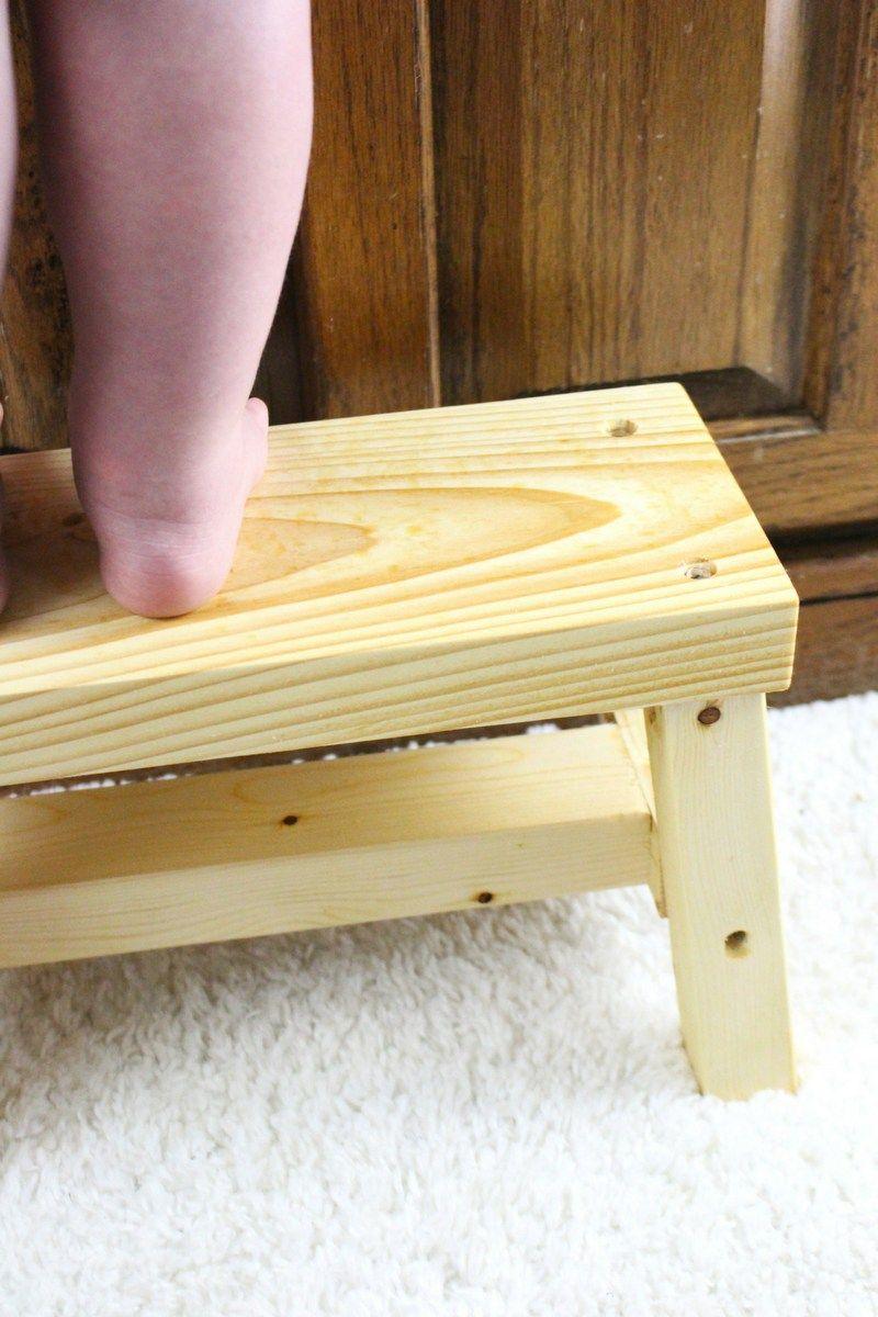 Elegant Step Stool for Children