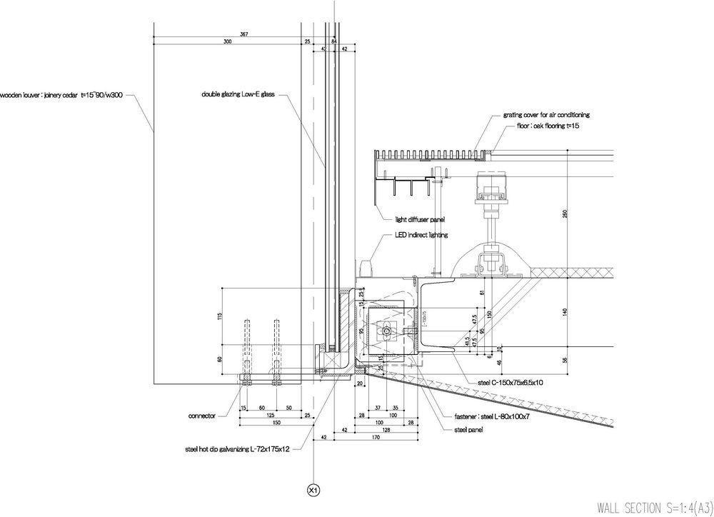 Wall section   Details   Kengo kuma, Facade engineering