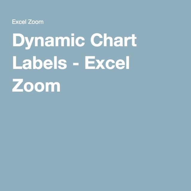 Dynamic chart labels excel zoom pinterest chart and microsoft dynamic chart labels excel zoom ccuart Choice Image