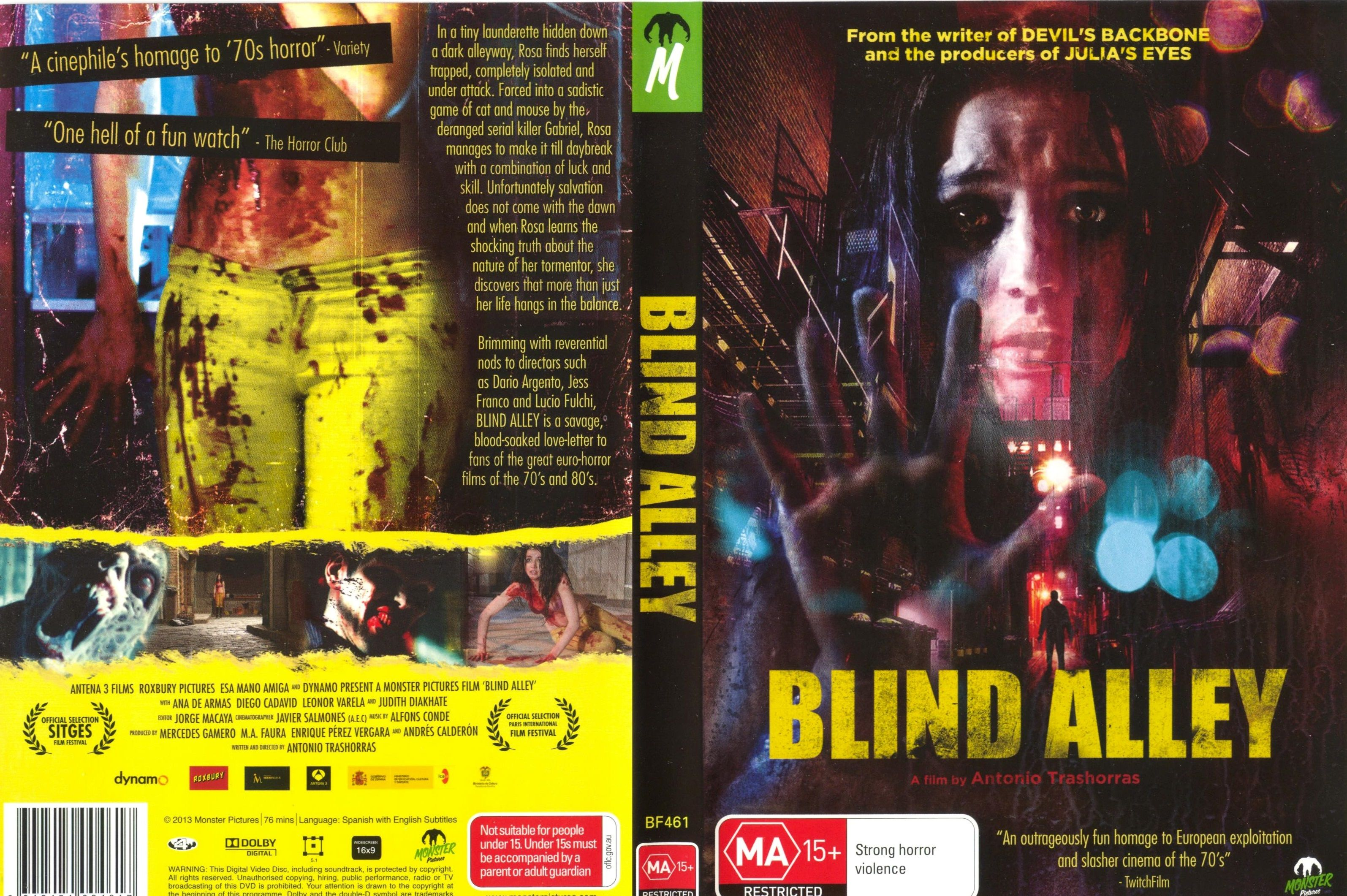 Blind Alley 2011 Spain Columbia Australian Import
