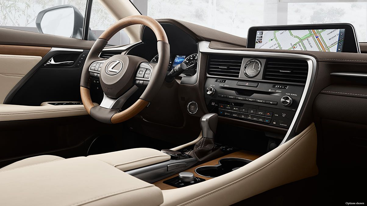 2018 Lexus Rx With Navigation And Bamboo Wood Trim Classic Luxury Suv Lexus Rx 350 Lexus Rx 350 Interior Lexus Interior