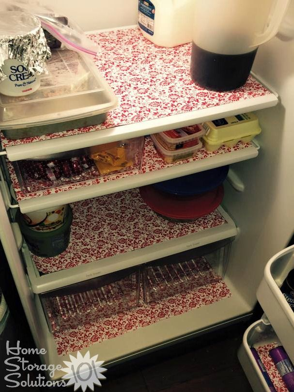 Fridge Shelf Liners How To Organize Your Refrigerator  Shelf Liners Refrigerator And