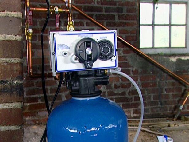install water softener diy
