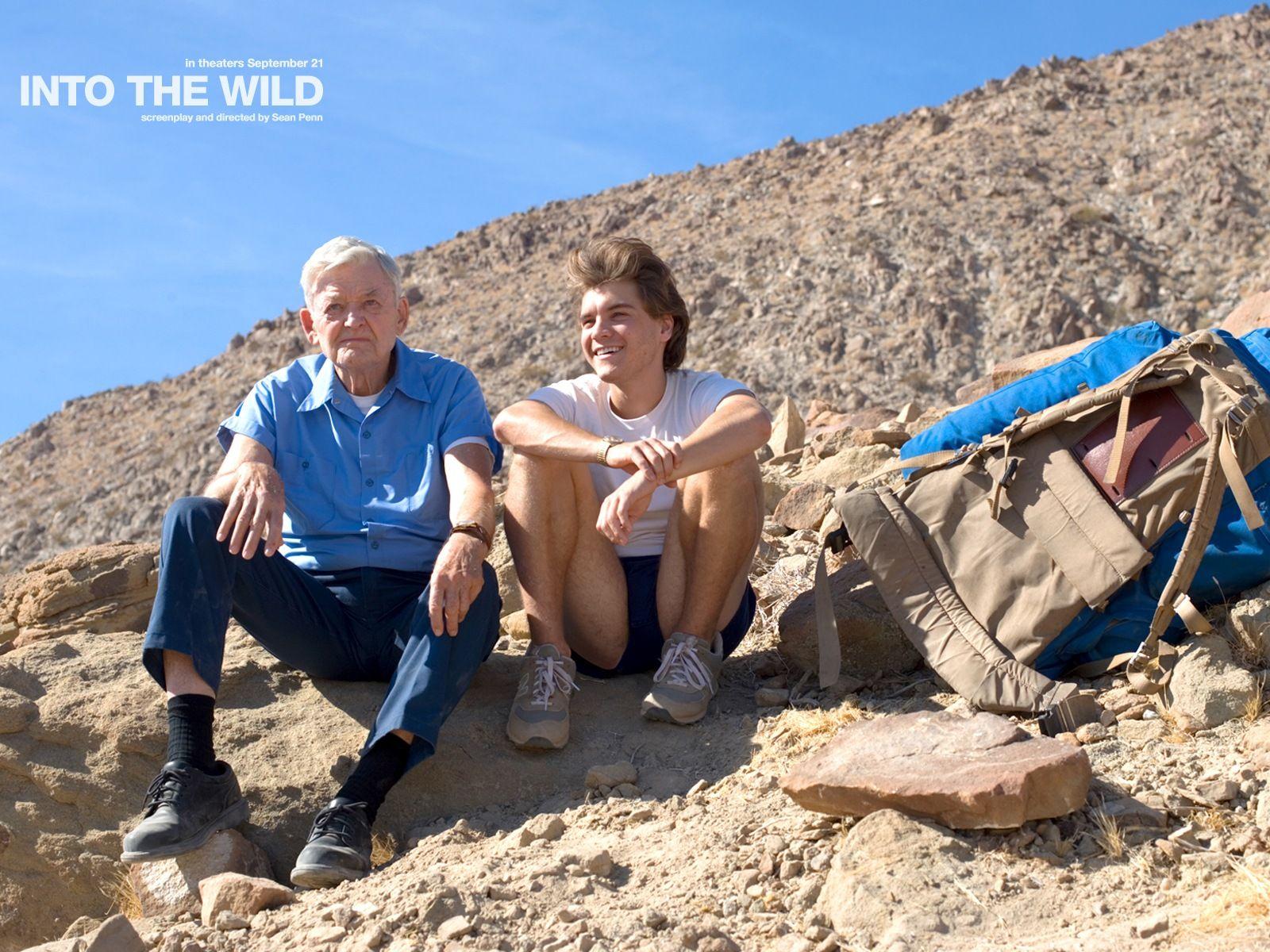 Into The Wild Wild Movie Wild Father Son Relationship