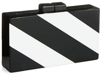 Zoe Adams Bold Striped Clutch on shopstyle.com