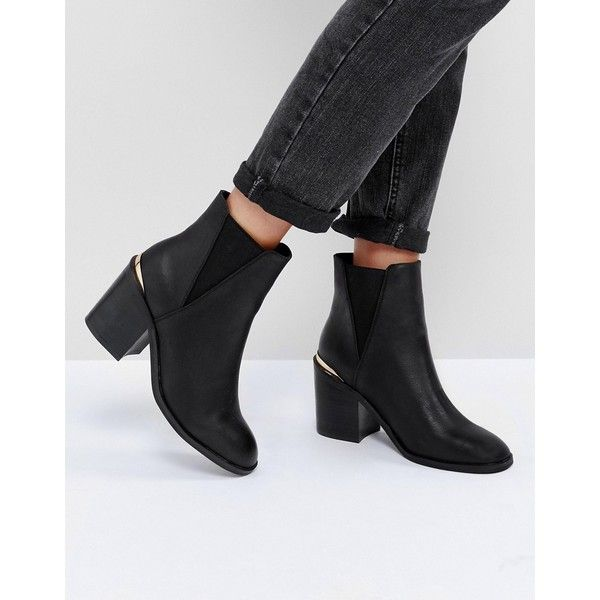Ankle Boots Round toe
