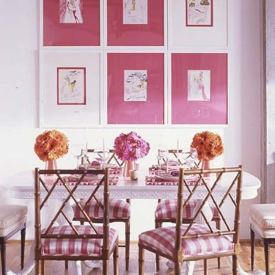 Pink! by Kim Zimmerman Interiors | For the Home | Pinterest ...