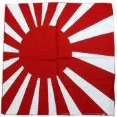 Rising Sun Bandana Vinyl Kingdom Japanese Flag Bandana Biker Accessories
