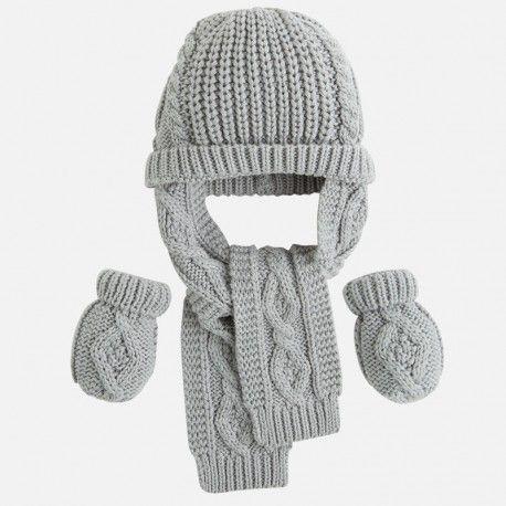 tricoter un bonnet avec echarpe integre