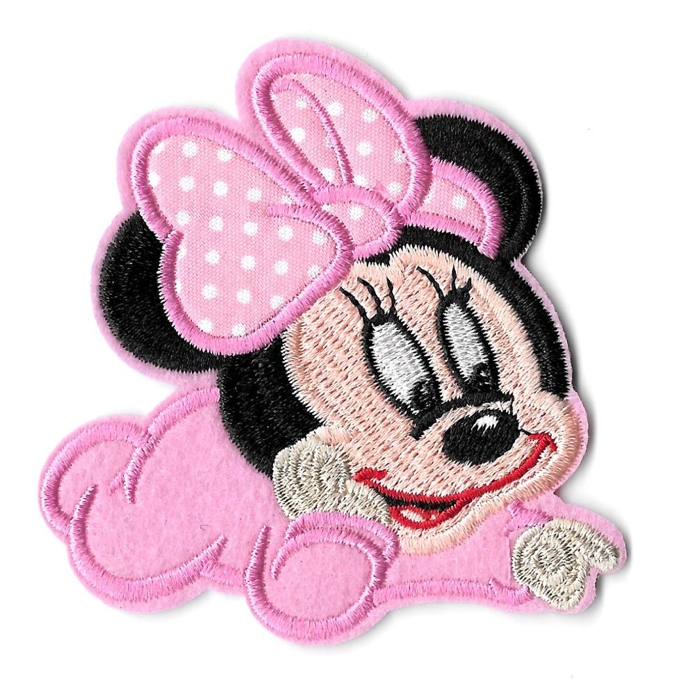 Iron On Patch appique Aristocats Marie pink bow kitty cat Embroidered Sew On