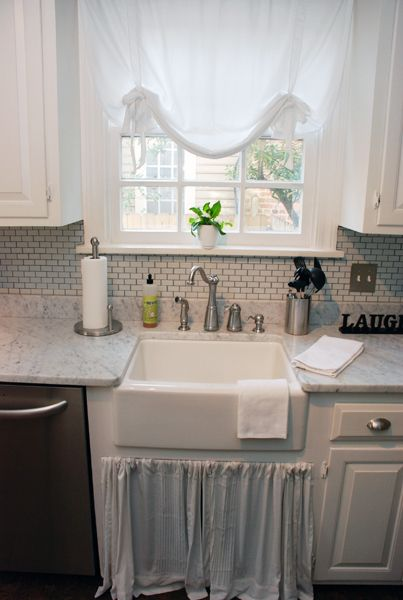 kitchen tour courtney and andy s cottage galley kitchen. Black Bedroom Furniture Sets. Home Design Ideas