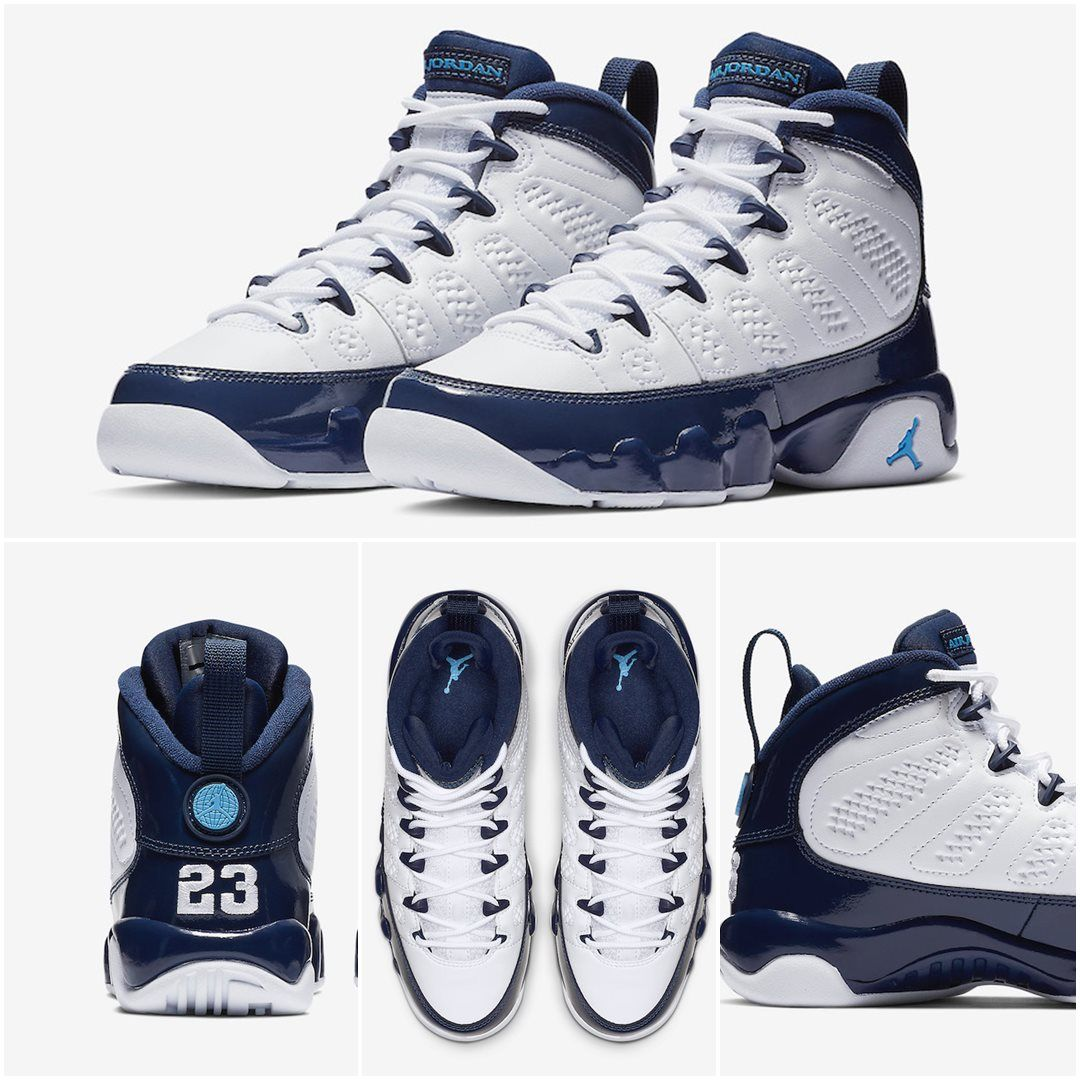 ec6f554f0f4 Air Jordan 9 Retro UNC | Sneakers | Air jordan 9, Jordan 9 retro ...
