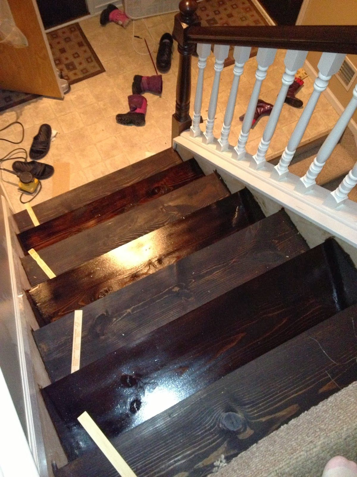 Best Turn Carpeted Stairs Into Hardwood Beauties For Just 60 400 x 300