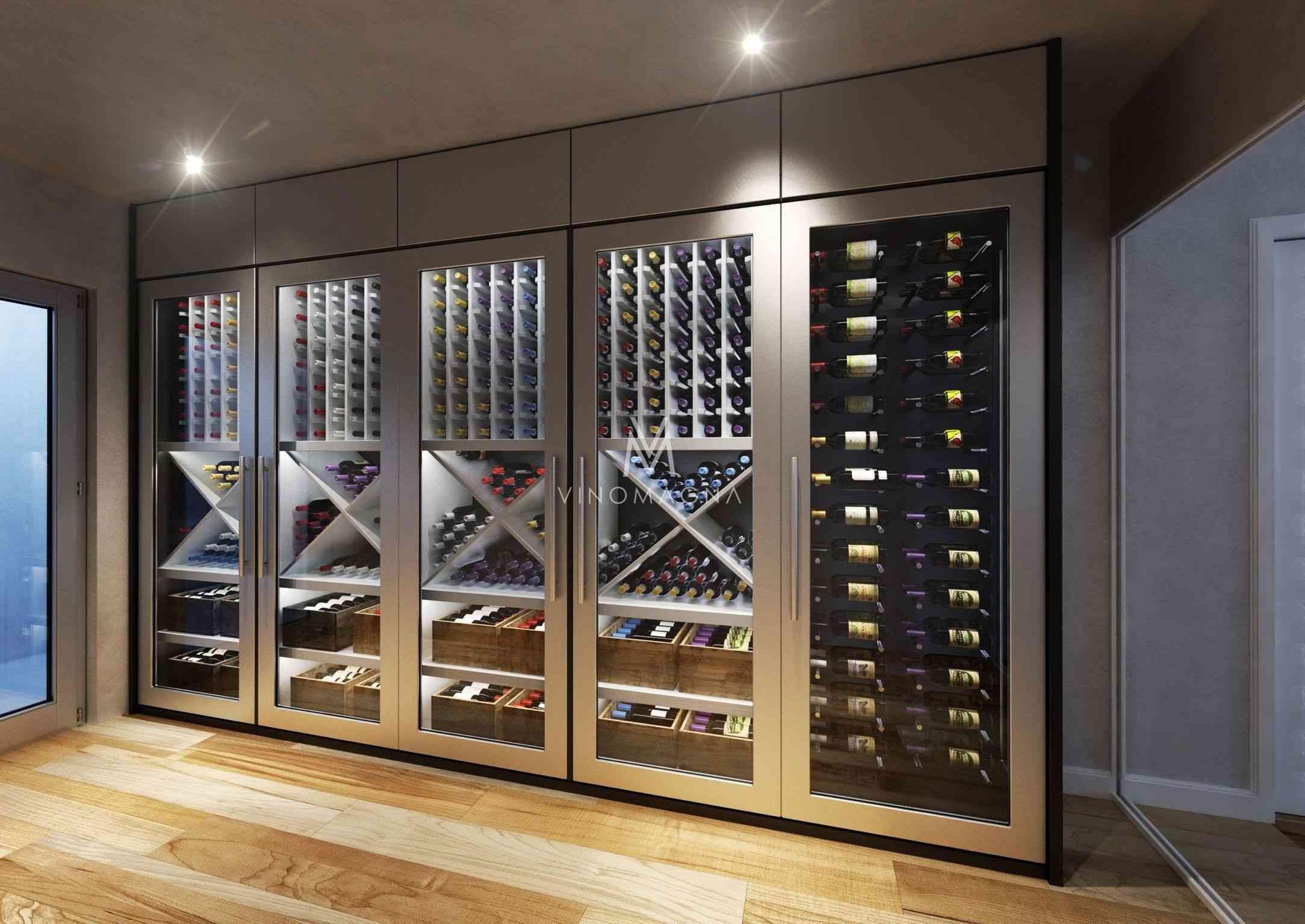 25 Luxury Modern Wine Cellar Ideas To Make Your Happy Paijo