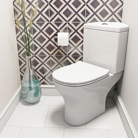 Peachy Orchard Derwent Round Compact Corner Close Coupled Toilet Beatyapartments Chair Design Images Beatyapartmentscom