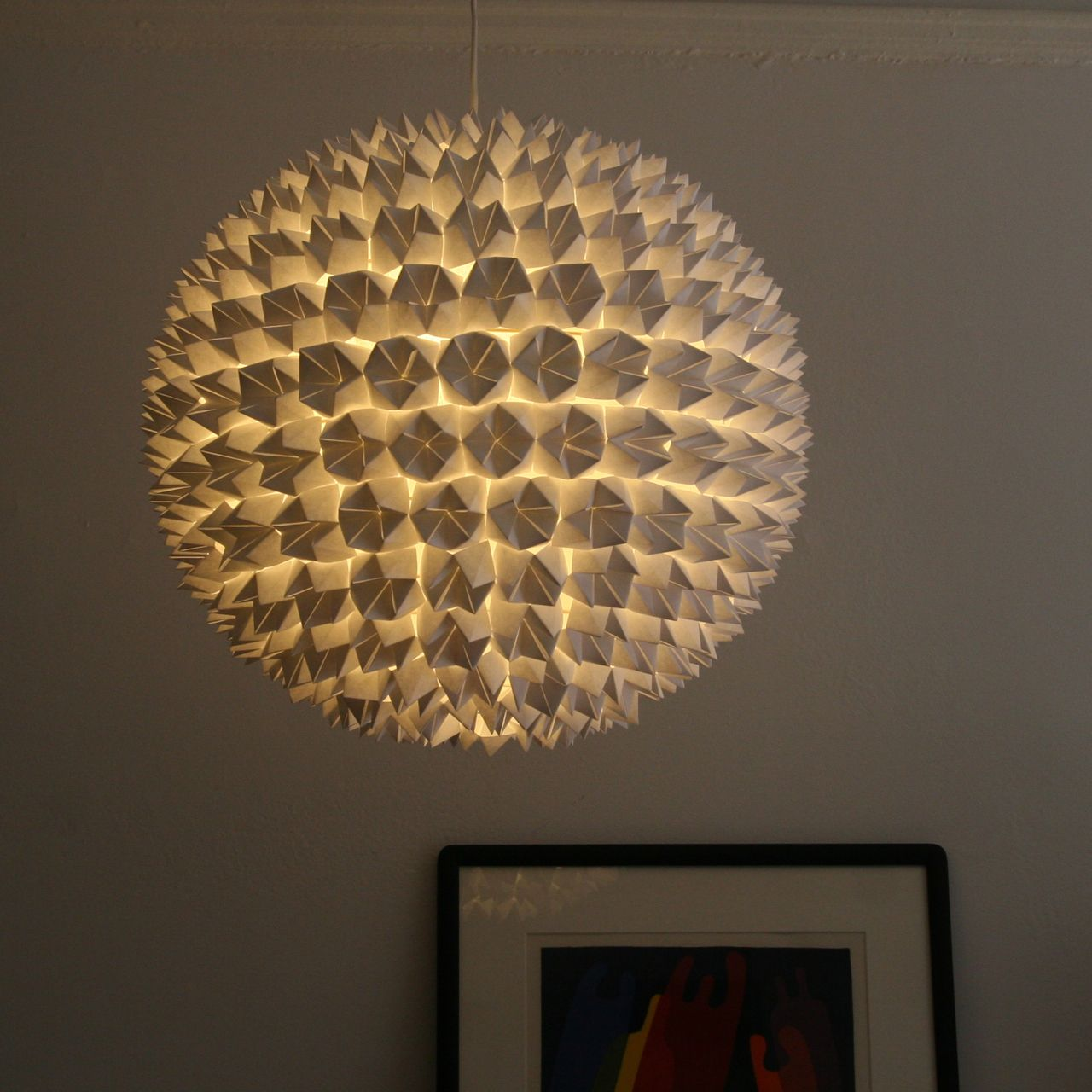 Faceted Pendant Lights – The Sphere