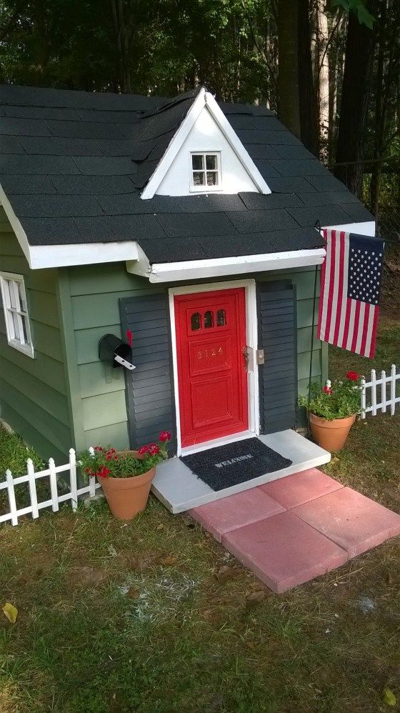 Tiny House Another Playhouse Makeover Play houses