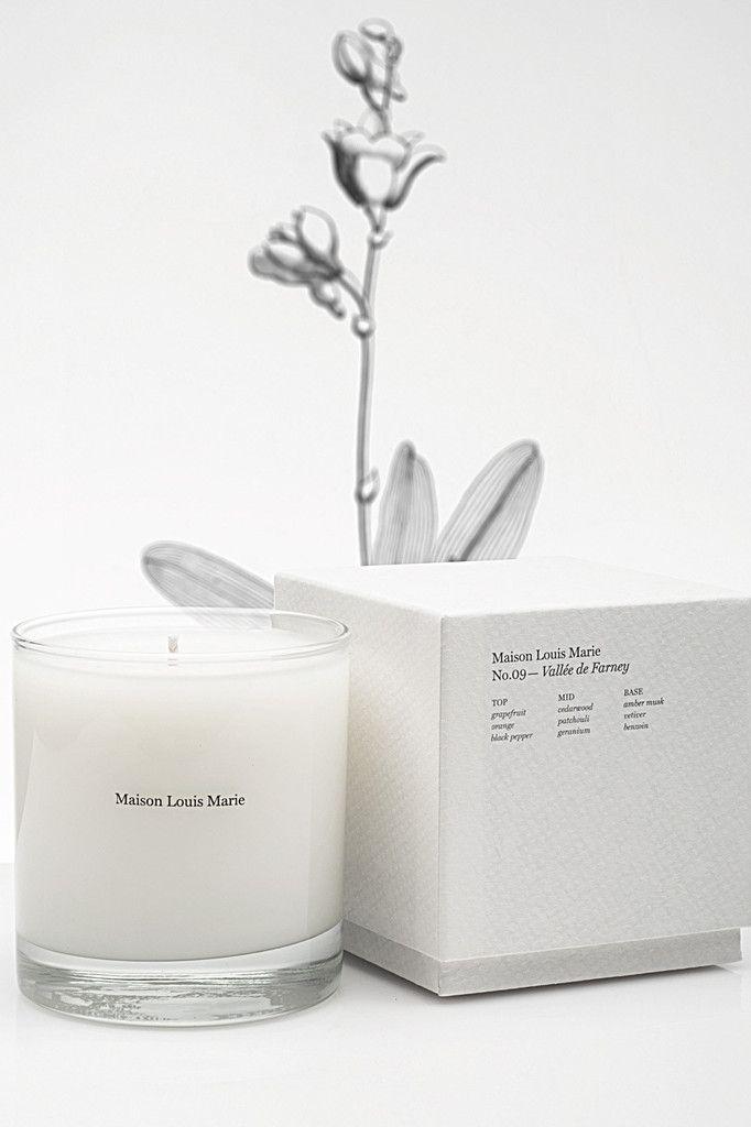 MAISON LOUIS MARIE bois de balincourt candle