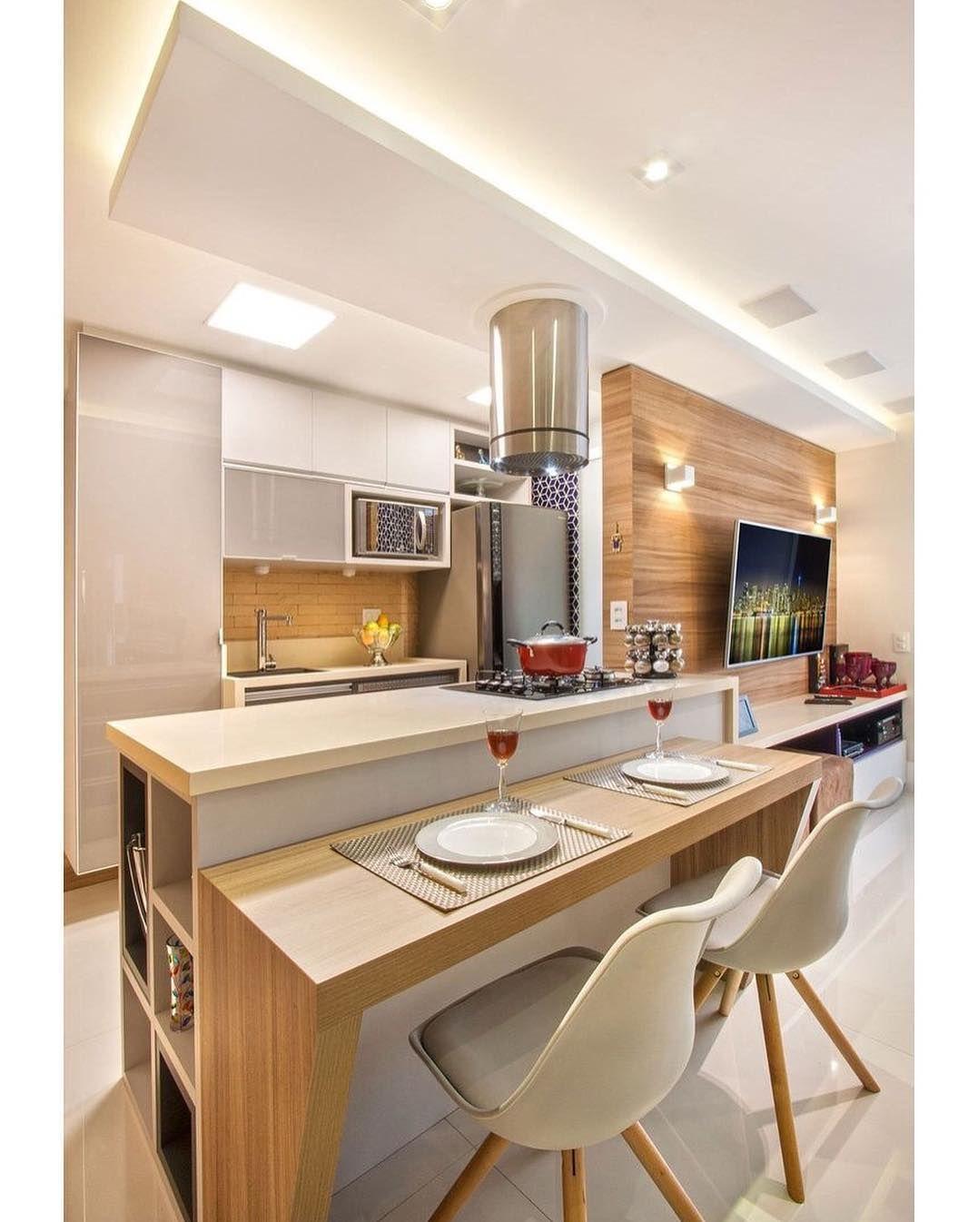 Cozinha Americana Pequena 60 Projetos Para Se Inspirar Cozinhas
