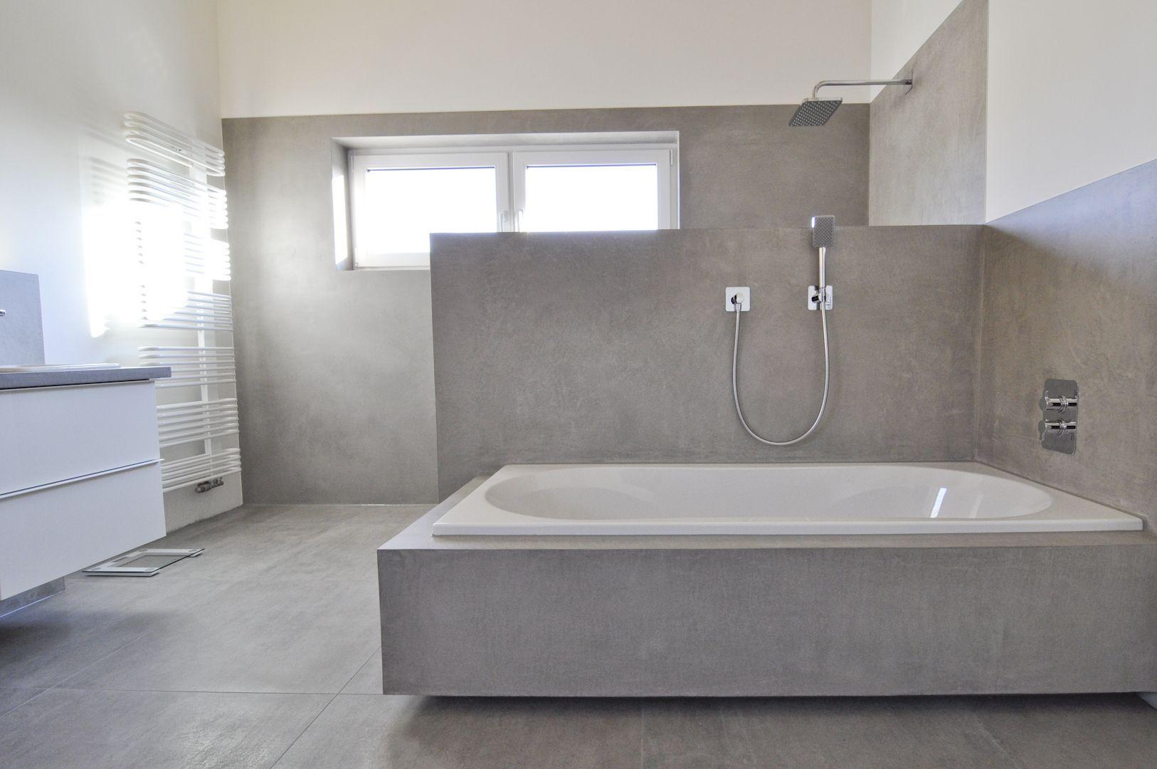 Badezimmer Fliesen Versiegeln Concrete Bathroom Bathroom Design Modern Bathroom
