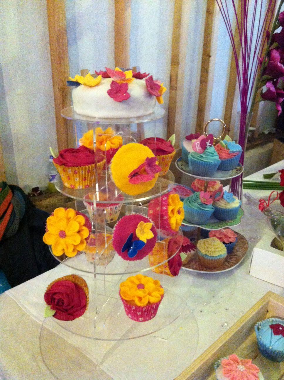 Very sweet cakes