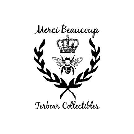 French Merci Beaucoup Custom Royal Queen Bee Rubber Stamp 2999 Via Etsy