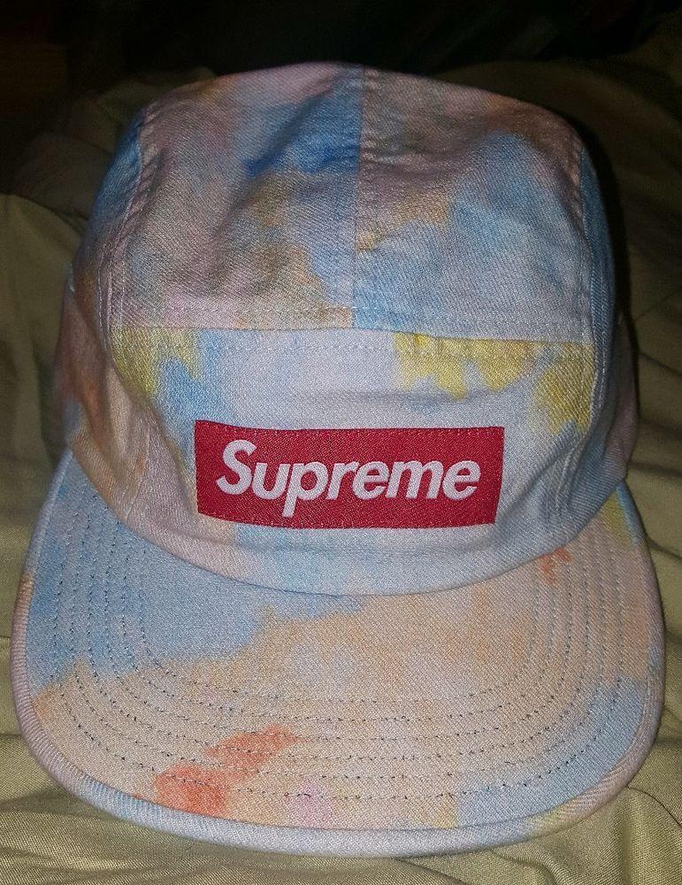 76abea7b Supreme Multicolor Denim Box Logo Camp Cap SS18 IN HAND #Supreme  #BoxLogoCampcap