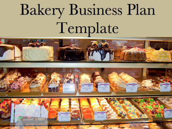 bakery marketing plan