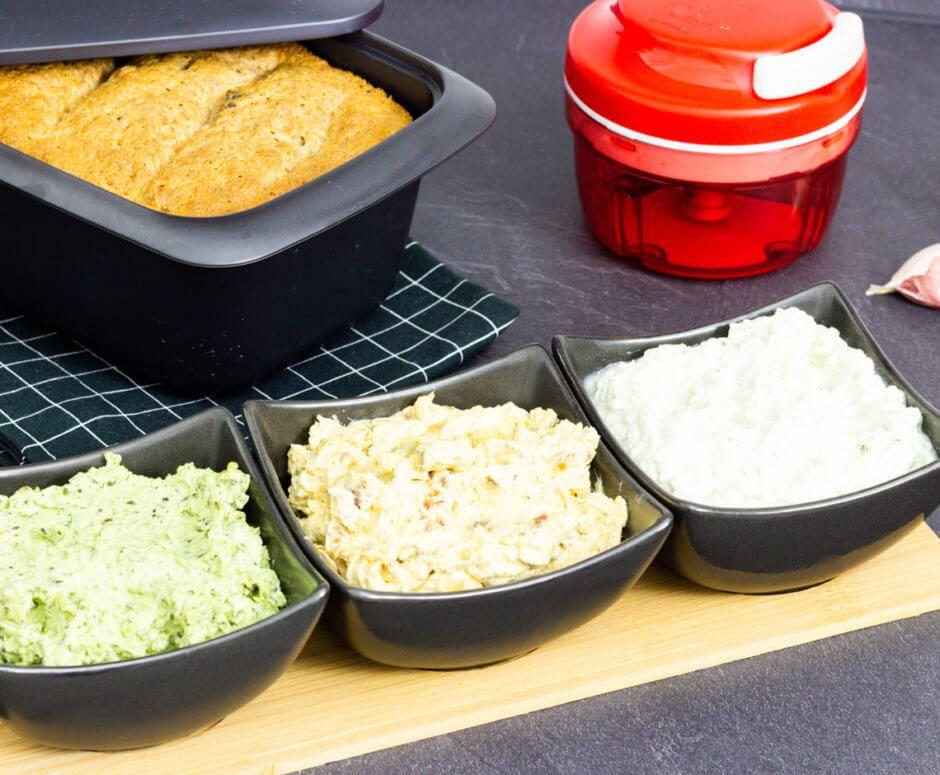 Rezept für Dreierlei Dips | Tupperware