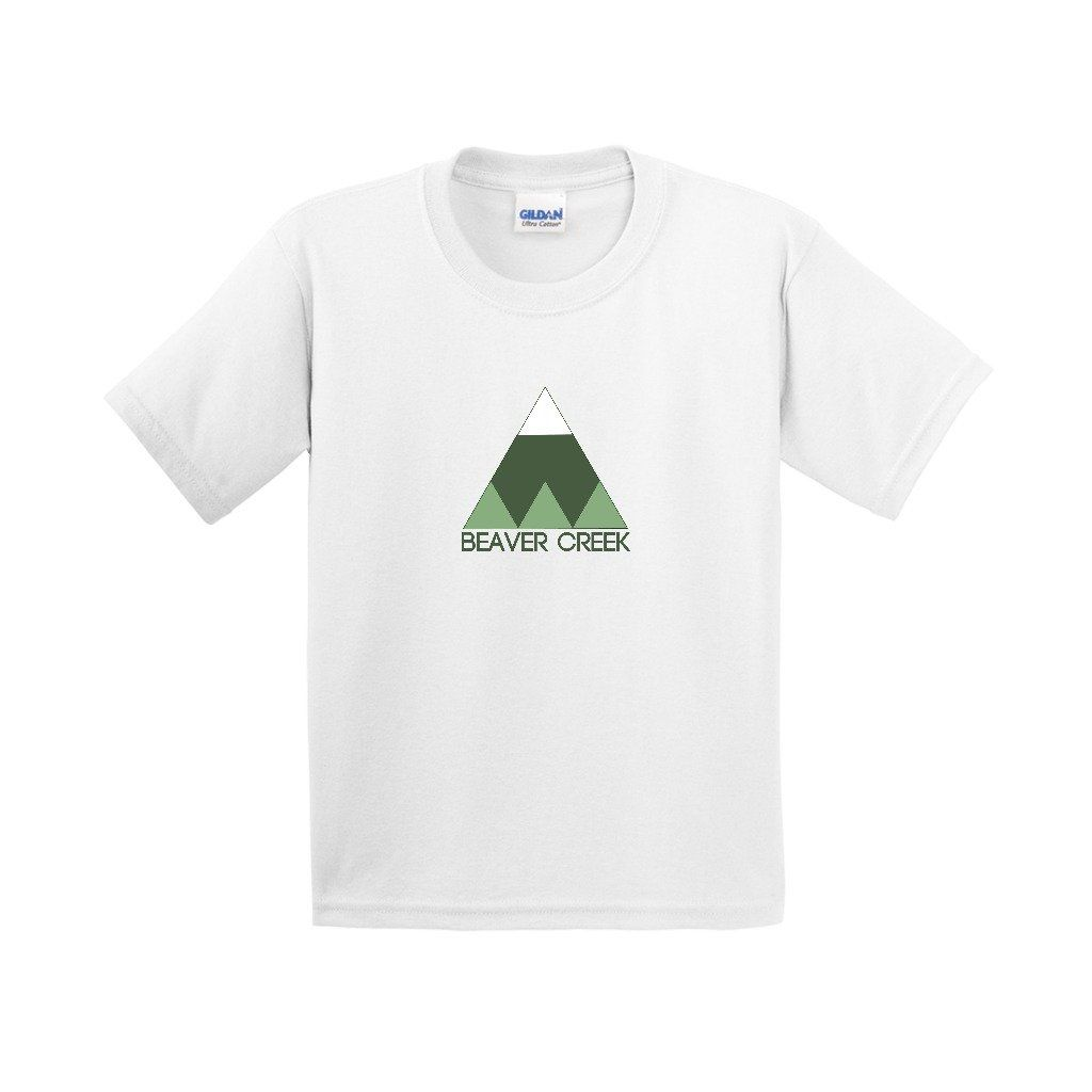 Beaver Creek Minimal Mountain - Colorado Youth T-Shirt