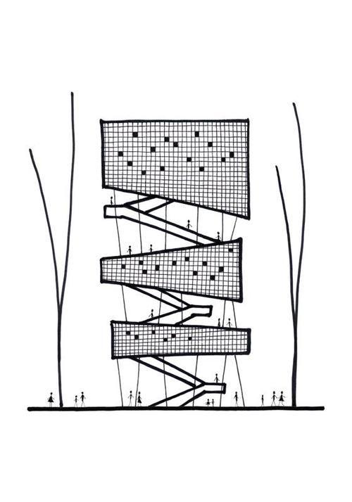 Dieweltvonmatilde Michele Congiu Architecture Sketch Blog