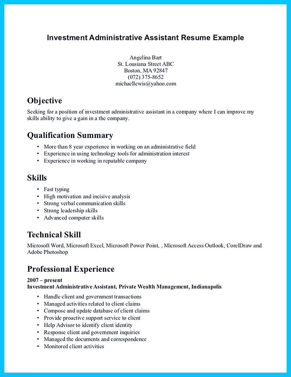 High Quality Entry Level Administrative Assistant Resume Samples Como Hacer Cortazar Trabajo