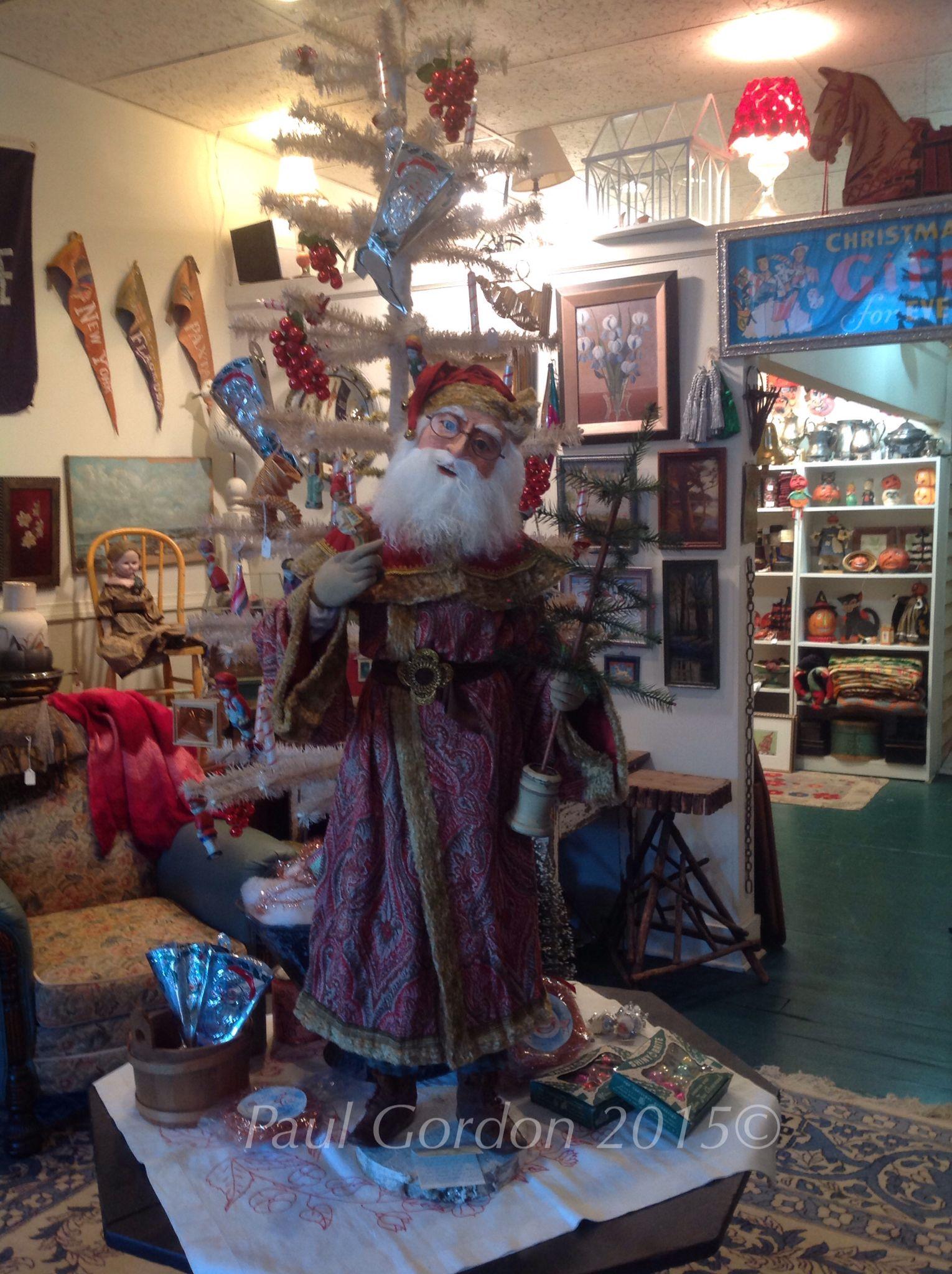 Santa greetings Friends in christmas Pinterest