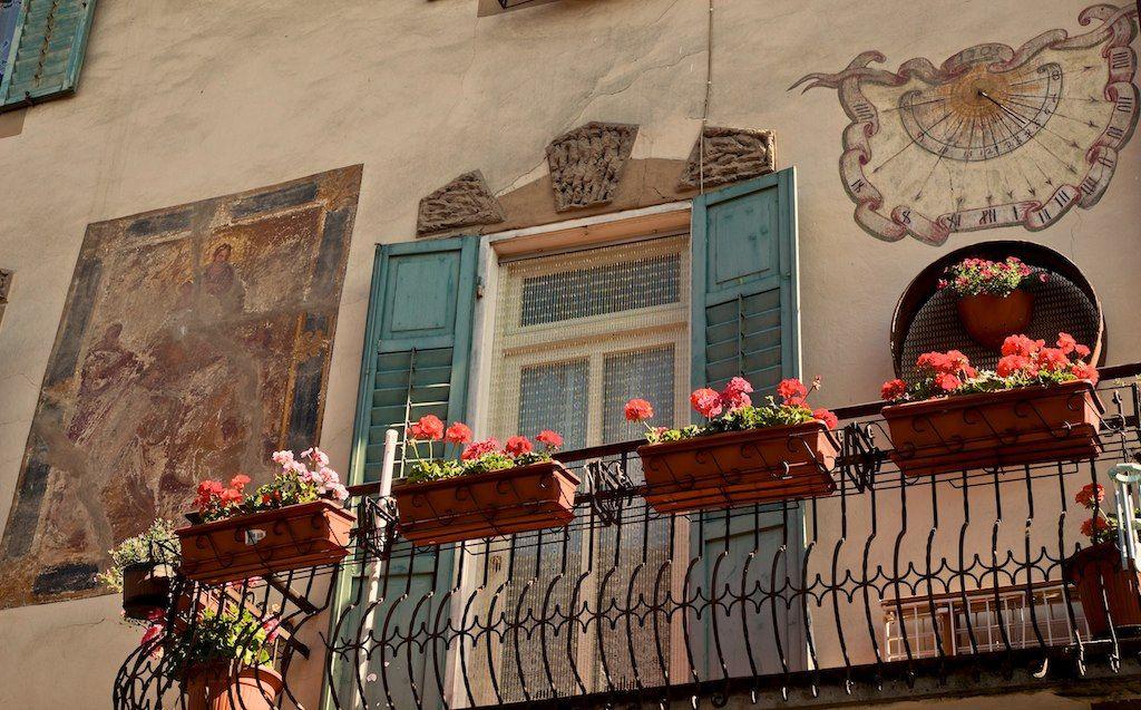 Balcone fiorito, Tesero, Trentino Alto Adige Alto adige