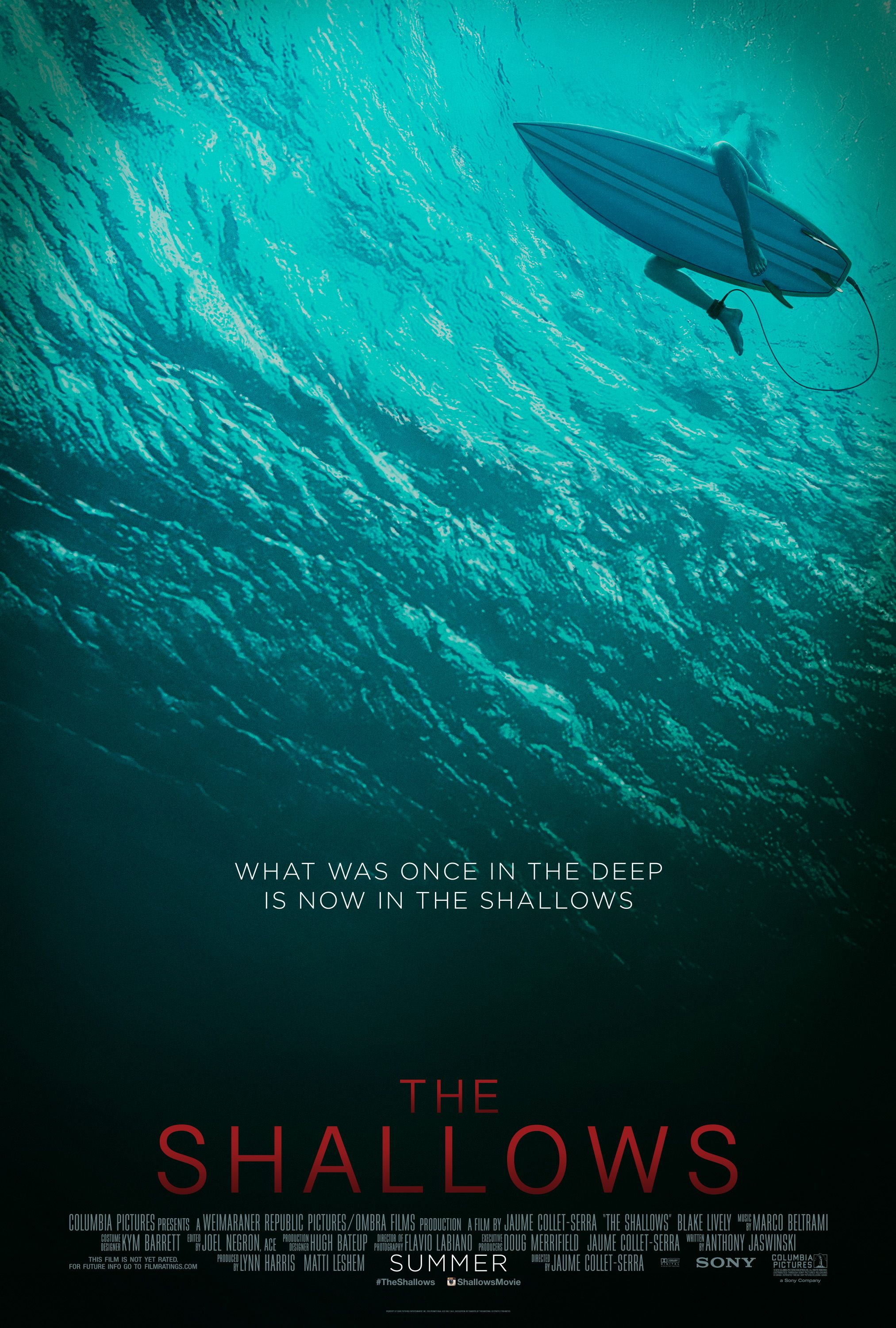 The Shallows Starring Blake Lively In Theaters June 24 2016