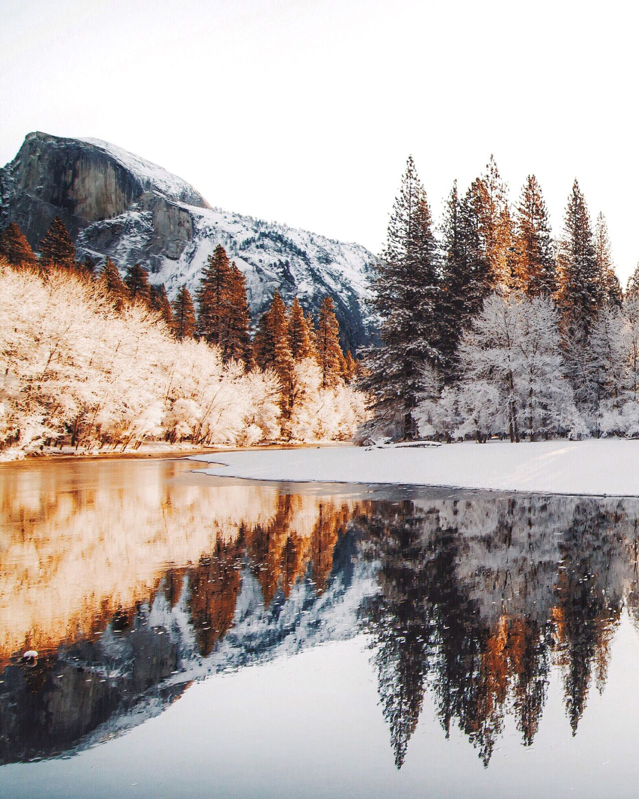 Places To Visit In Month Of December: Yosemite In December @zeisenhauer