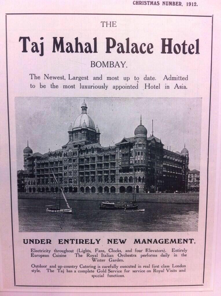 Mumbai Heritage On Hotel Ads Bombay Palace Hotel