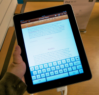 only 1 iPad in the classroom? ideas on how to make it work