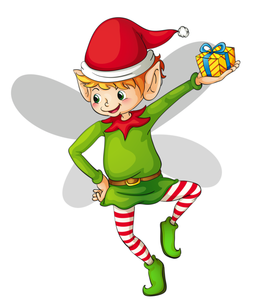 30+ Free Animated Elf Clipart