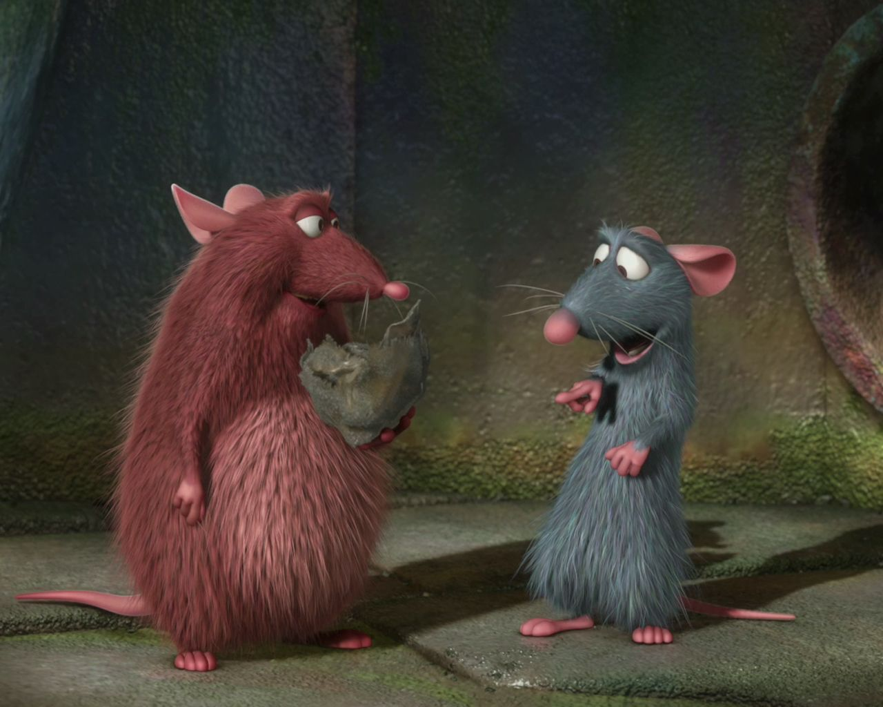 Emile And Remy Ratatouille Animated Movies Disney Movies Ratatouille Movie