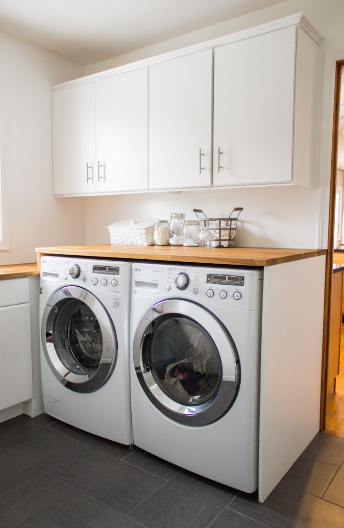 Beautiful Small Laundry Room Remodel Inexpensive Doable Great Tips If You Don T Like Your
