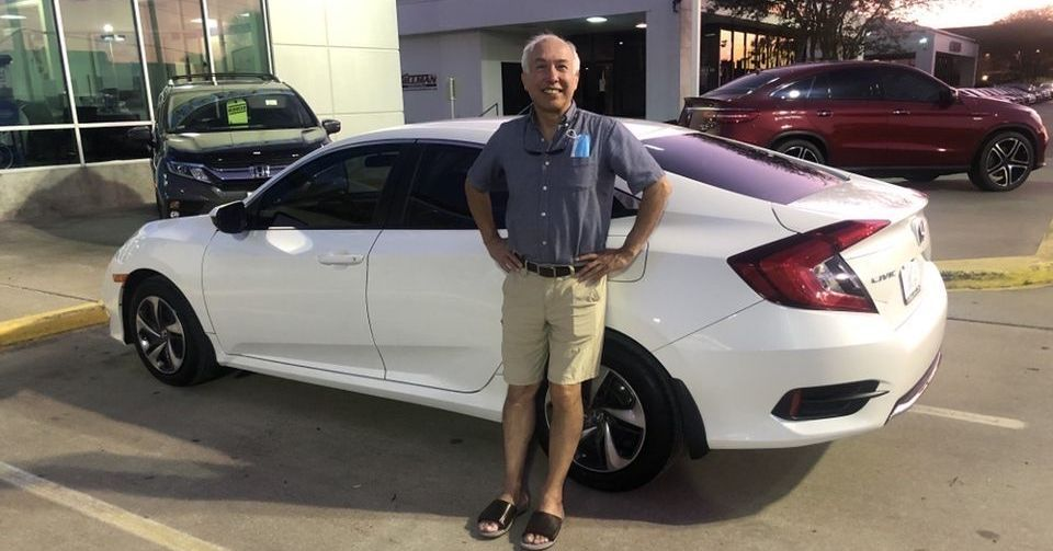 Welcome to #TeamGillman❕ We know you'll love every drive in your new #Honda! Where to go first? 👀 #HTX #rosenberg #texas #carsales #cardealership #hondacars #hondacivic #motors #civiccustomer #hondacustomer #civicnation #carsofinstagram