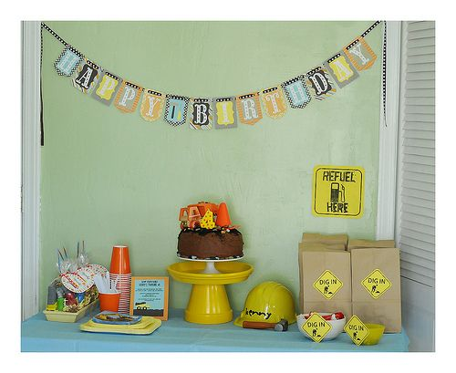 Silhouette America Blog | Construction Themed Party