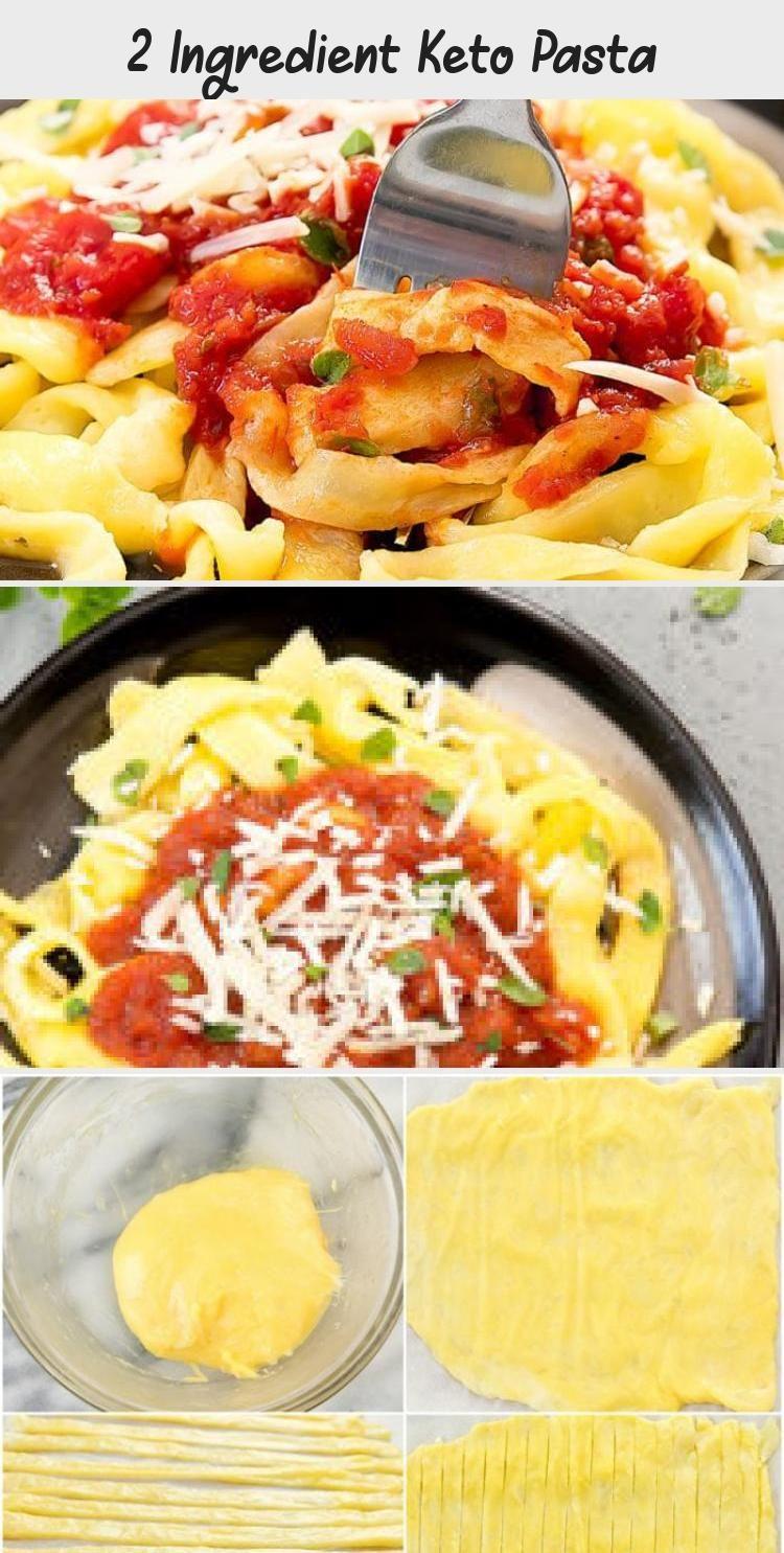 2 Ingredient Pasta Keto