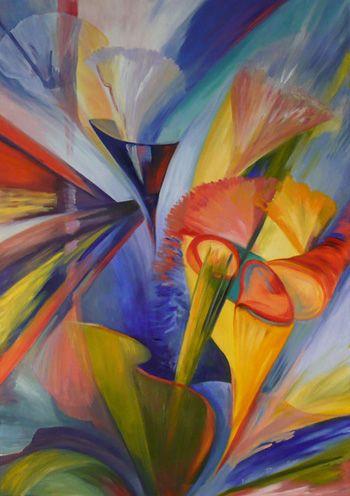 Cuadros modernos coloridos pintura pinterest cuadros modernos moderno y cuadro for Imagenes de cuadros abstractos tripticos
